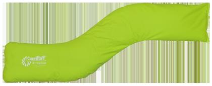 CareWave S-kudde Grön 130×25 cm