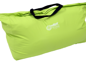 Oppbevaringsbag til posisjoneringsputer, grønn