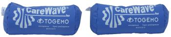 CareWave Positioneringsrulle Blå 35×20 cm två-pack