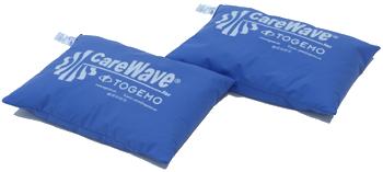 CareWave Universalkudde Blå 40×30 cm två-pack