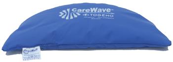 CareWave Universalkudde halvmåne Blå 46×22 cm